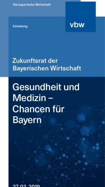 Gesundheit und Medizin - Chancen für Bayern - Augsburg